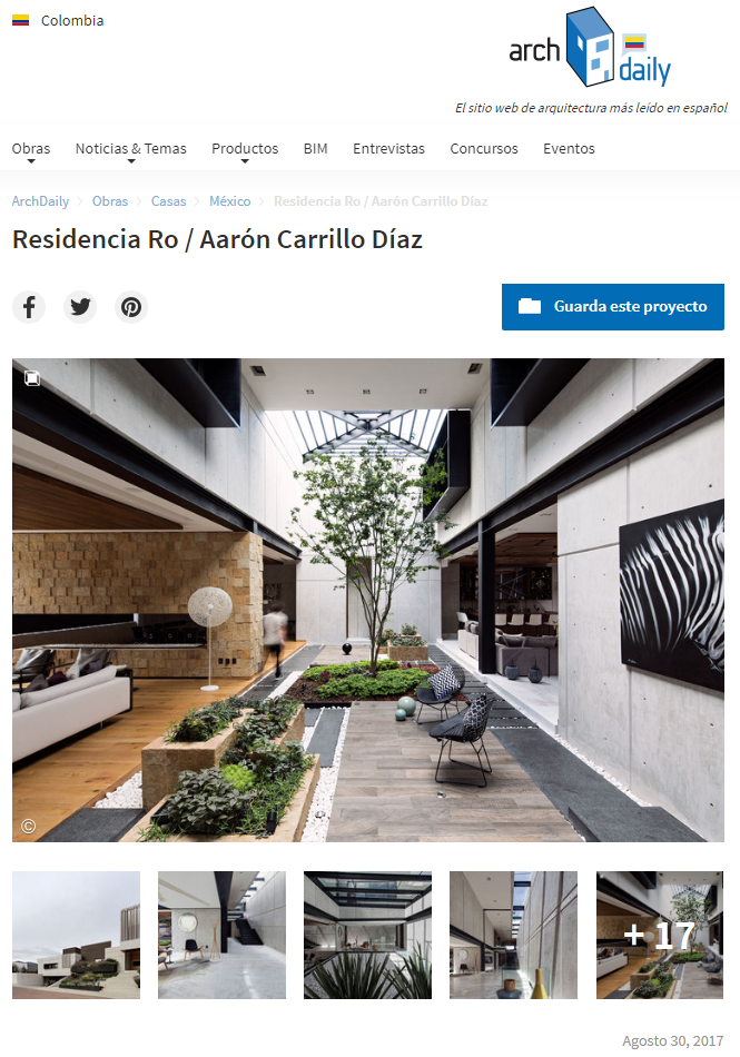 RESIDENCIA ROQUEÑI COLOMBIA